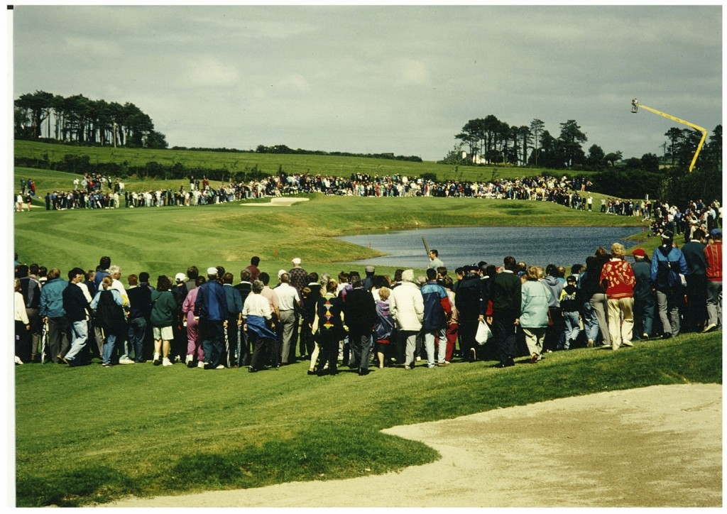 The 8th hole at the Lee Valley Opening