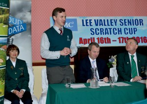Scratch Cup Golf Competition in Cork