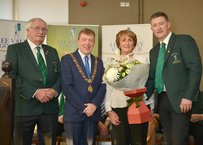 Captain's Drive 2018 with Jerry Keohane, the Lord Mayor of Cork, Peg Keohane and 2018 Captain Brian O'Donovan