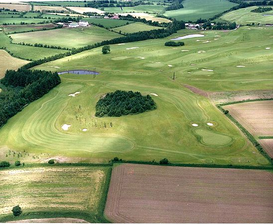 Aerial photo of Lee Valley Golf Club early days
