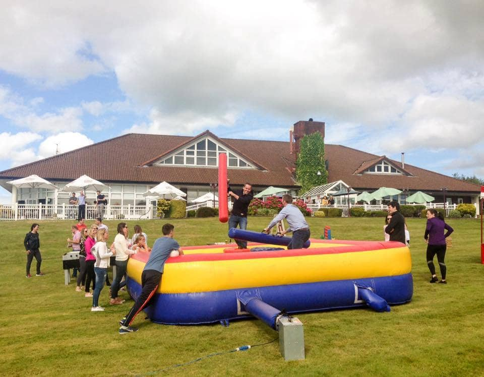 Carnival day for corporate day out at Lee Valley Golf & Country Club
