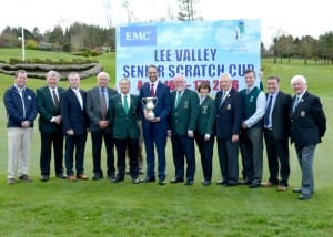 Senior Scratch Cup Team Lee Valley Golf & Country Club
